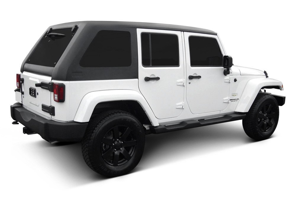 Jeep Wrangler Unlimited Soft Tops >> American Fastbacks - Freedom Fastback Solid Hard Top | eBay