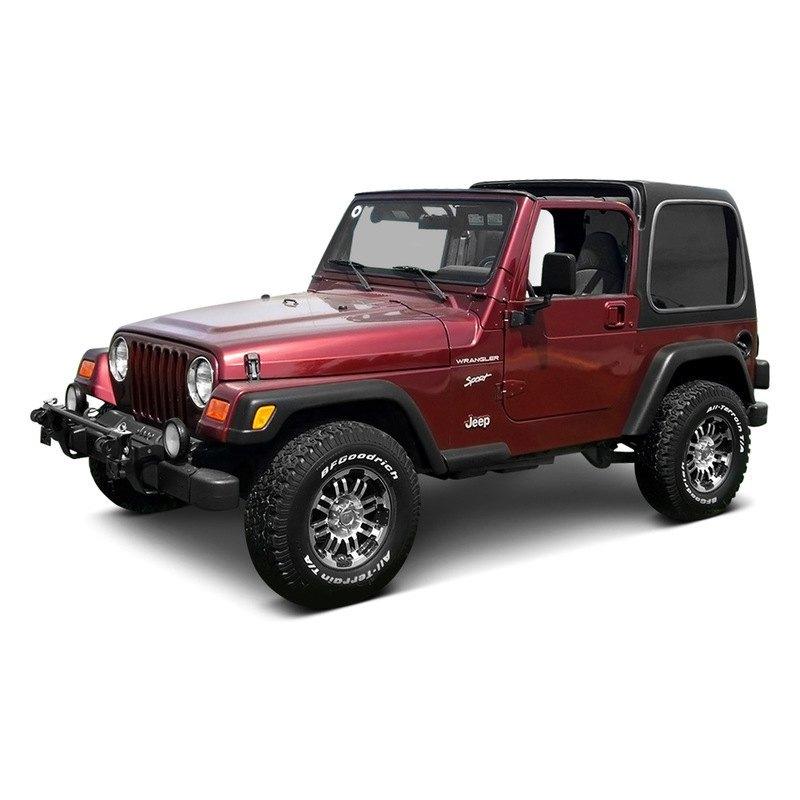 American Fastbacks 174 Jeep Wrangler 2007 2017 Two Piece