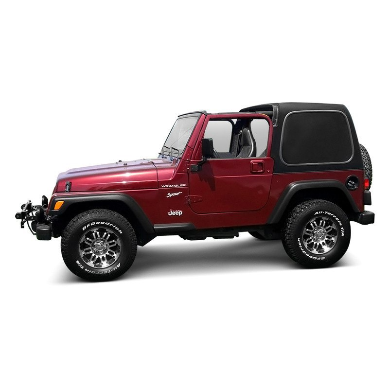 American Fastbacks 174 Jeep Wrangler 2007 2017 Two Piece