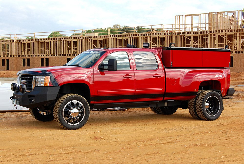 american force combat dually with adapter wheels custom painted rims. Black Bedroom Furniture Sets. Home Design Ideas