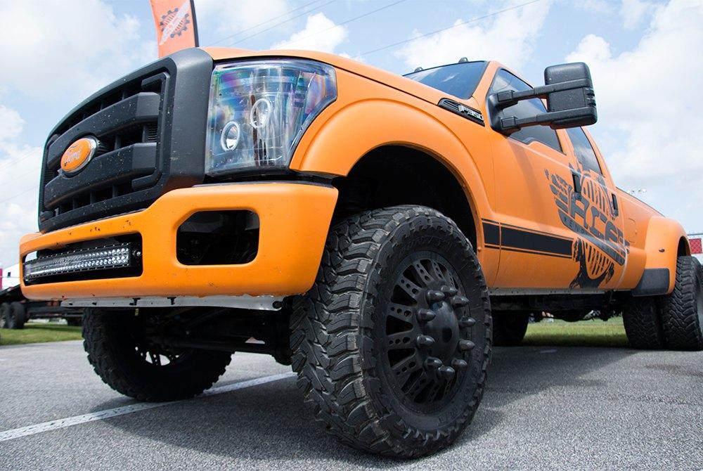 Black Ford Raptor Lifted