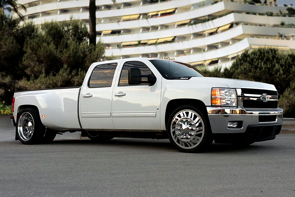 Shift Dually With Adapter Polished Chevy Silverado