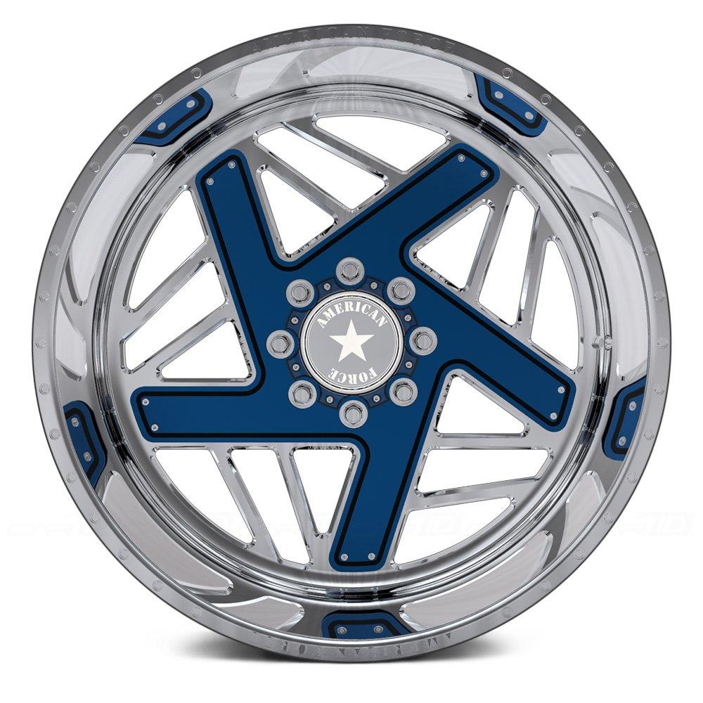 Chrome Trailer Wheels
