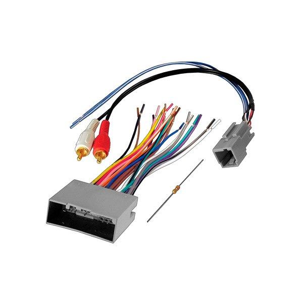 for ford f-150 04-14 wiring harness aftermarket radio wiring harness w  plug, | ebay  ebay