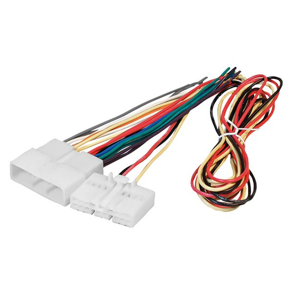 american international 174 hwh804t wiring harness with oem plugs with alarm relocation harness