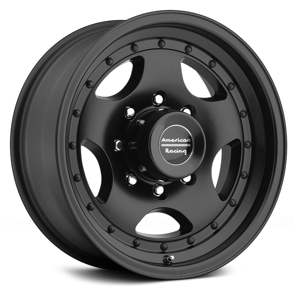 American Racing 174 Ar23 Wheels Satin Black Rims