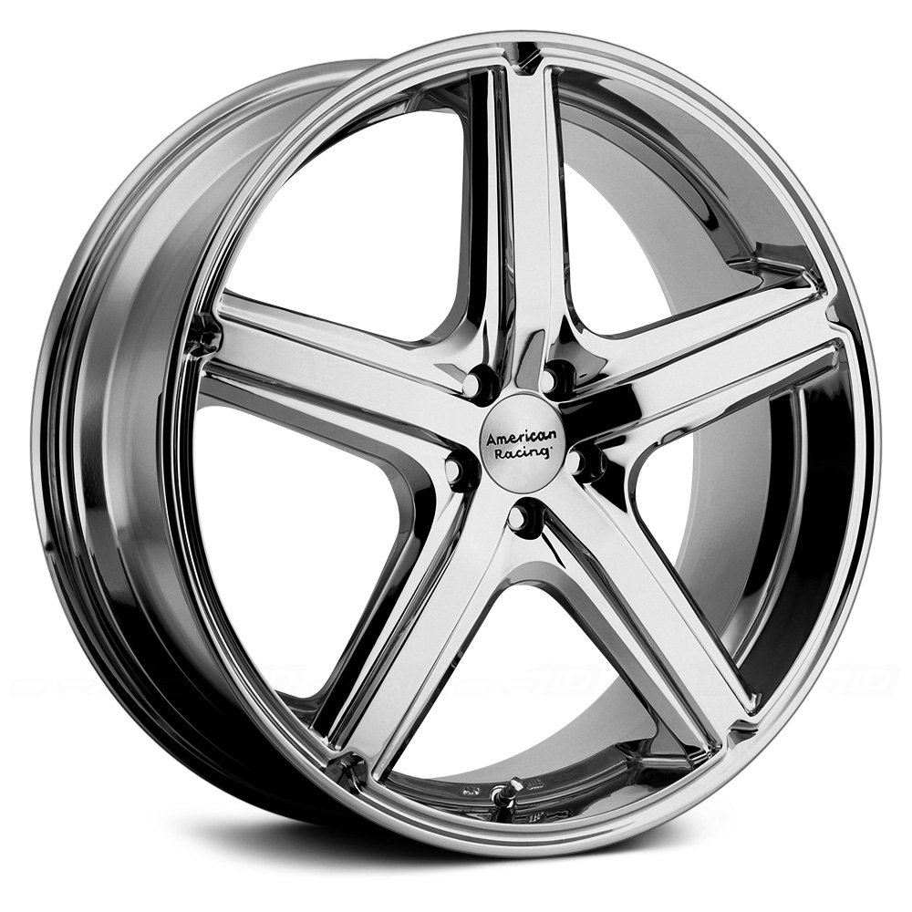 American Racing 174 Ar883 Maverick Wheels Chrome Rims