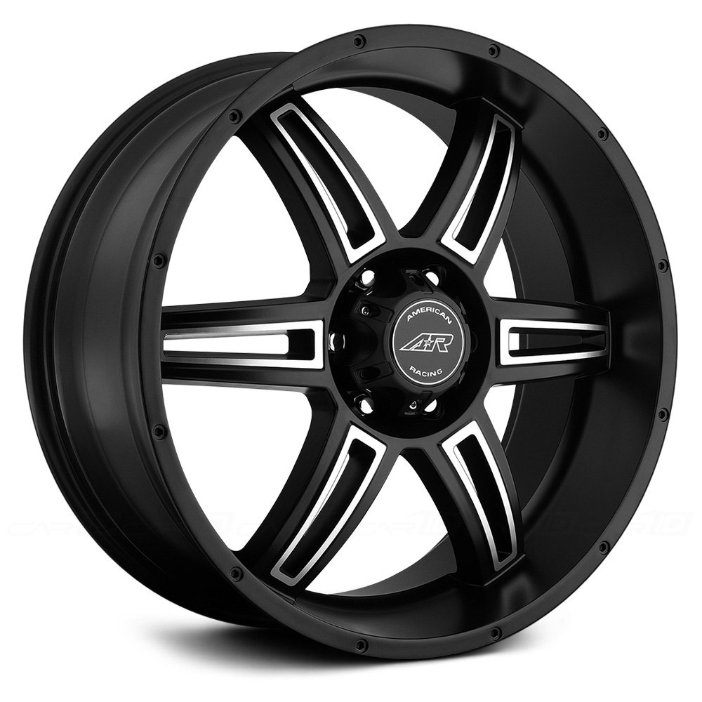 2012 Ford Escape Black Rims >> AMERICAN RACING® AR890 Wheels - Satin Black with Machined Face Rims