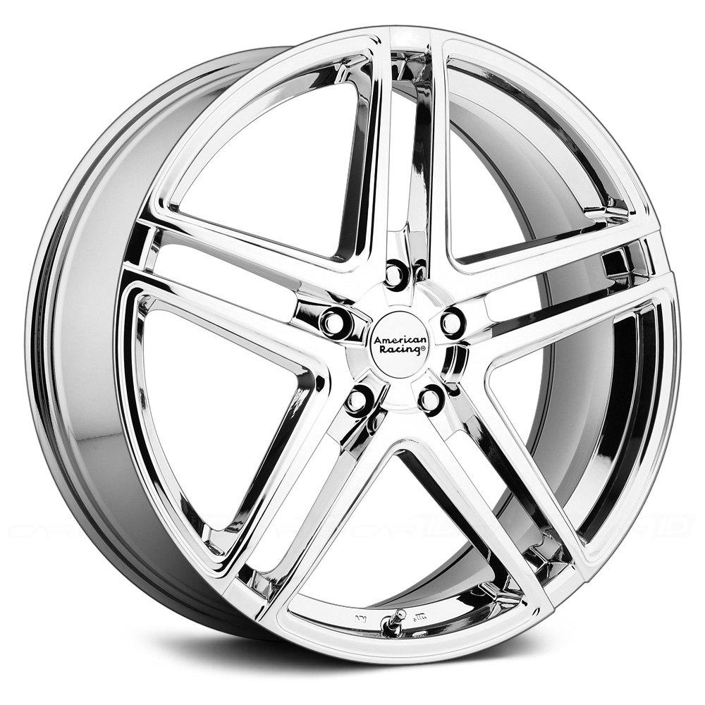 AMERICAN RACING® AR907 1PC Wheels - Bright PVD Rims
