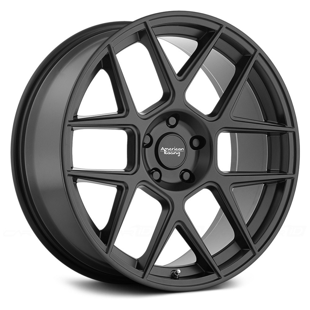 American Racing 174 Ar913 Apex 1pc Wheels Satin Black Rims