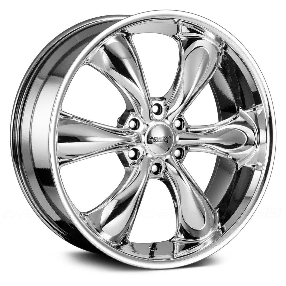 60 Inch Rims On Car : American racing ar tt truck pc wheels pvd rims