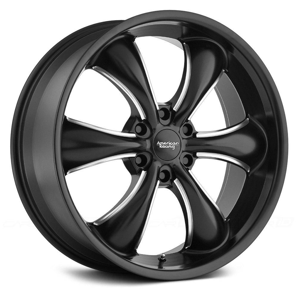 Chevy Tahoe Stock Rims AMERICAN RACING® AR914 TT60 TRUCK Wheels - Satin Black ...