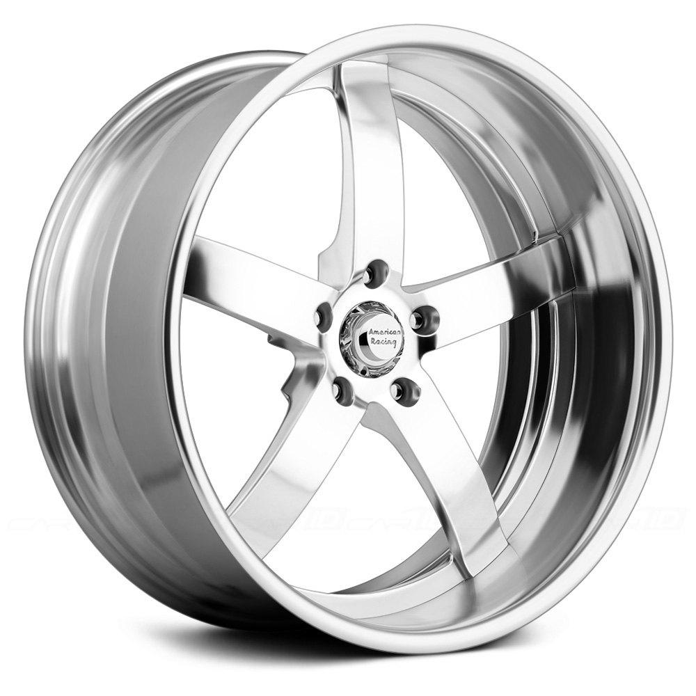 American Racing 174 Vf495 Wheels Polished Rims
