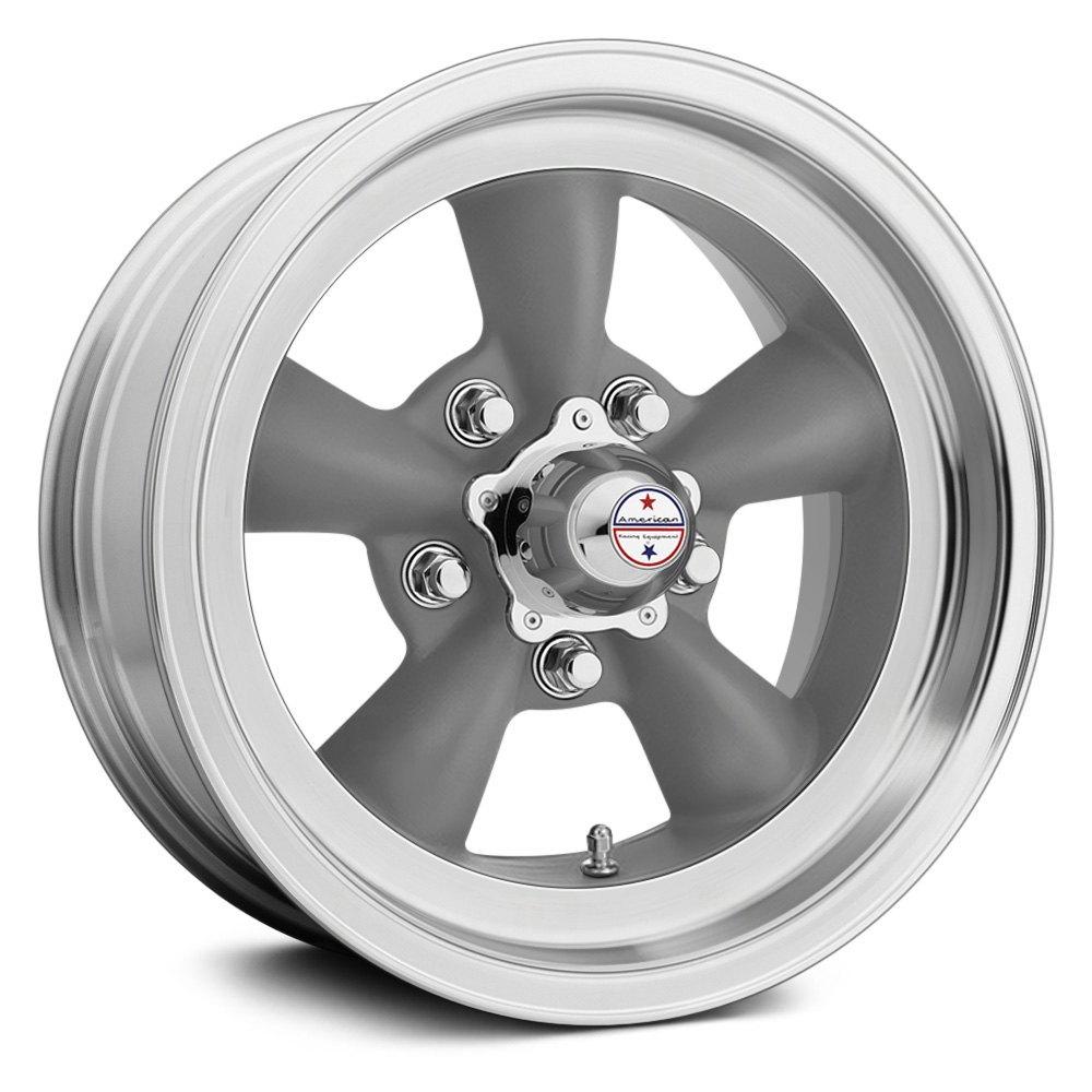 American Racing 174 Torq Thrust D Wheels Gray With Machined