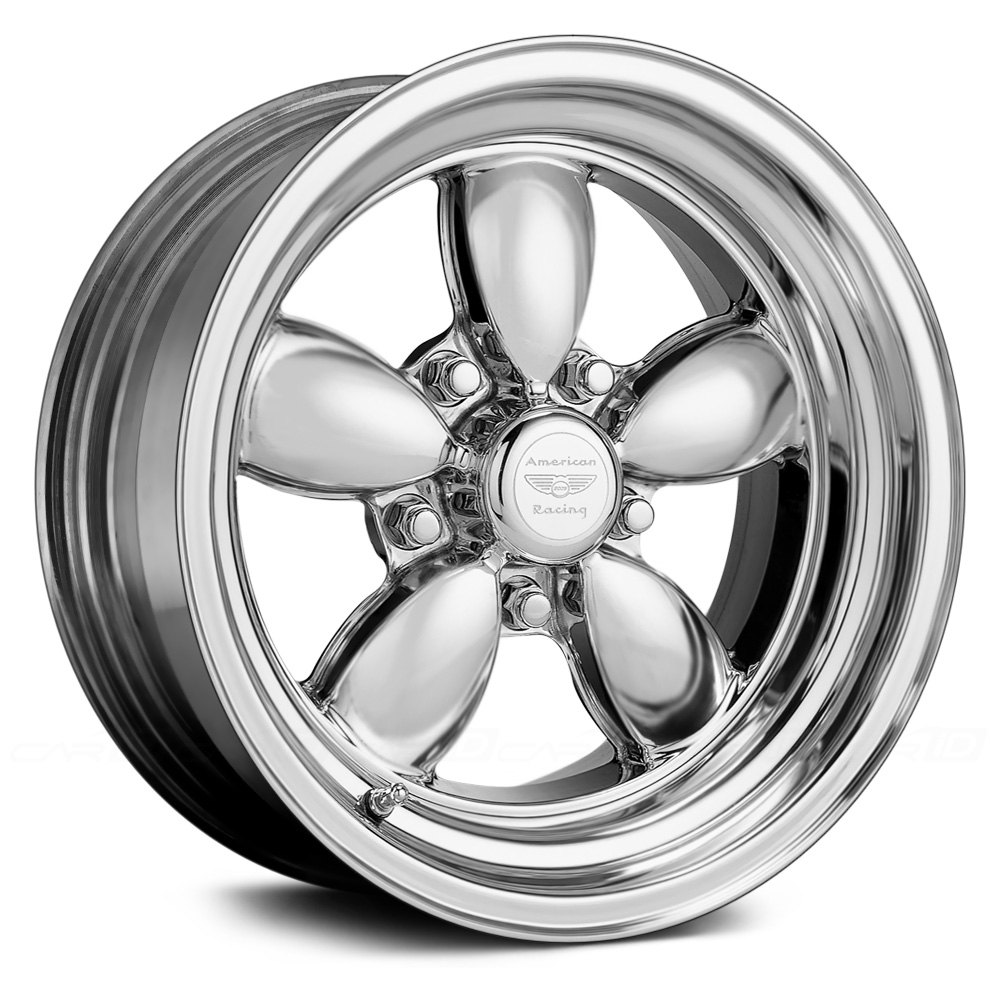 american racing vn420 classic 200s 2pc wheels polished rims