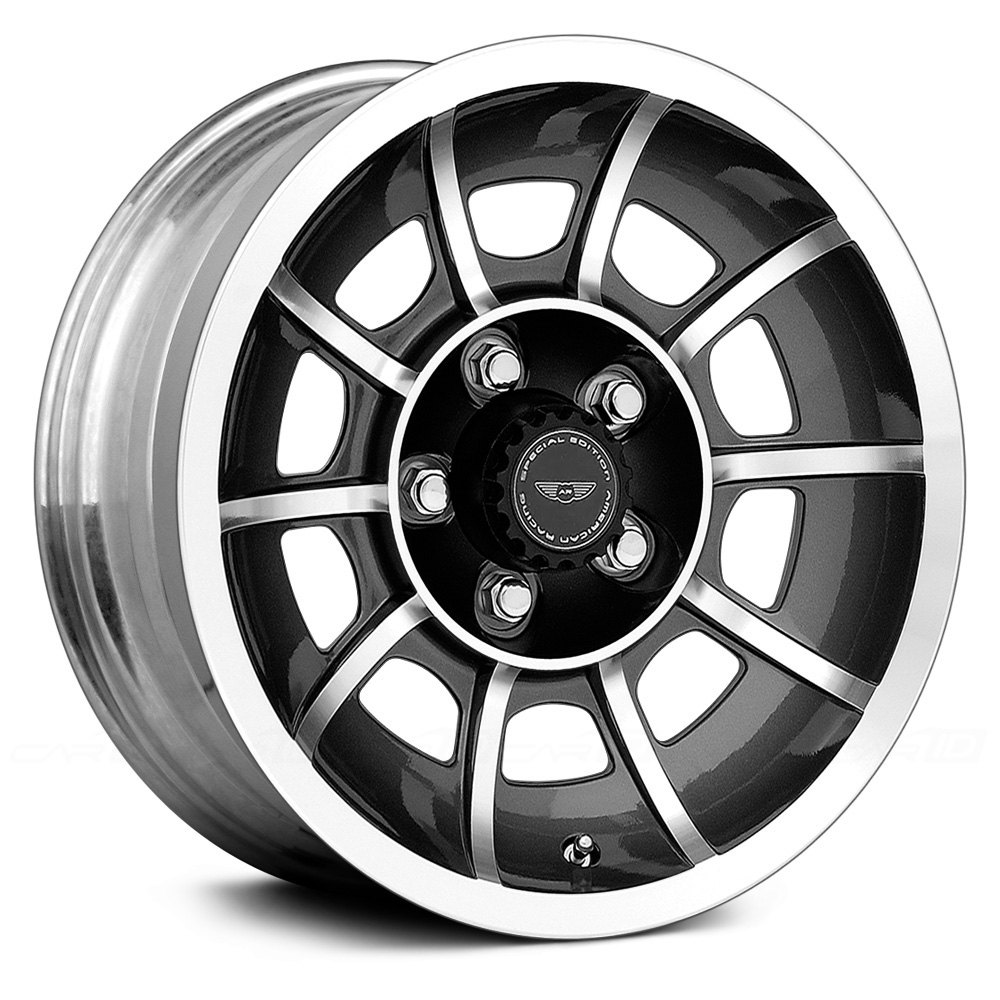 AMERICAN RACING® VN47 VECTOR Wheels - Anthracite with Machined ... for Racing Tire Vector  545xkb