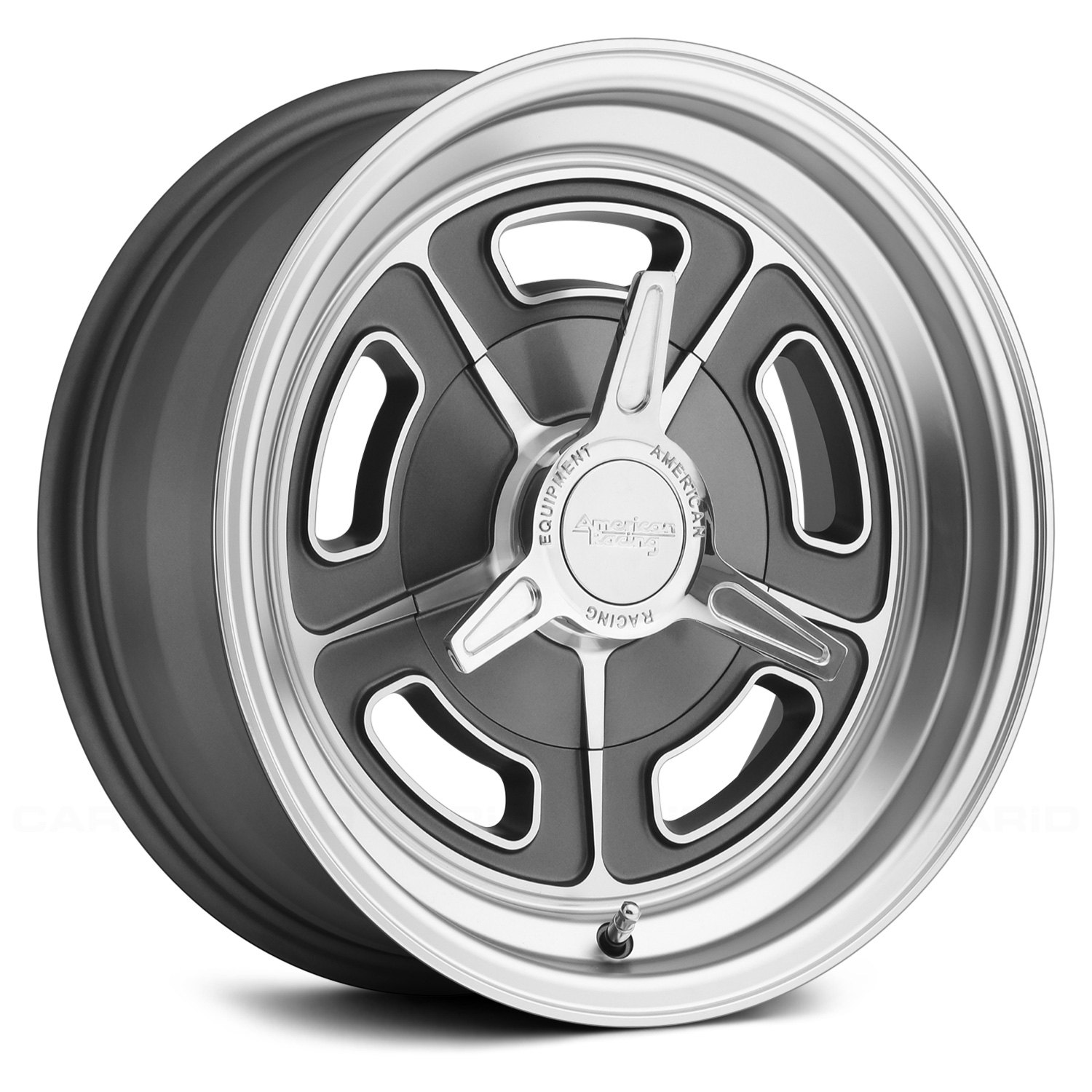 Chrome Rim Repair >> 15x5 AMERICAN RACING Wheels -12 | 5x114.3 | 76.5 VN502 Rims Magnesium Gray | eBay