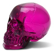 American Shifter® - Crystal Purple Skull Shift Knob