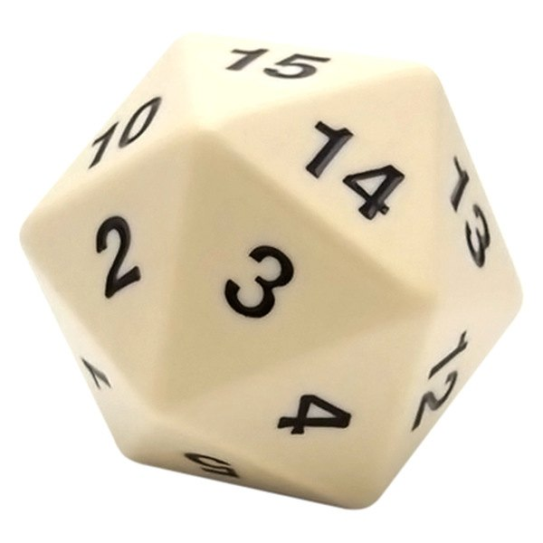 20 sided die number setup new email