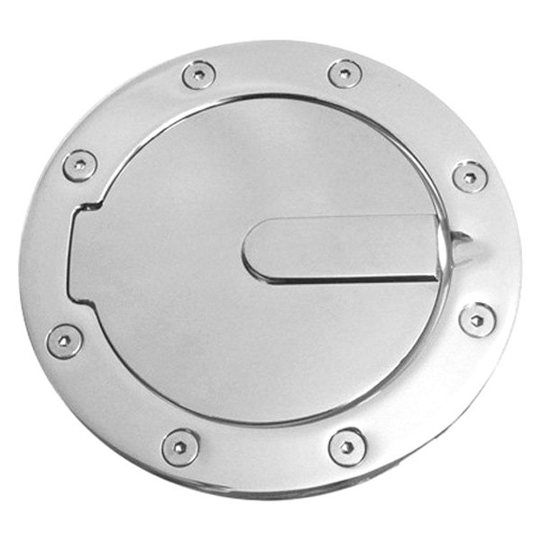 Ami 174 6107p Race Style Non Locking Polished Billet Gas Cap