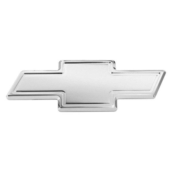 ami174 96043c chevy bowtie style chrome grille billet emblem