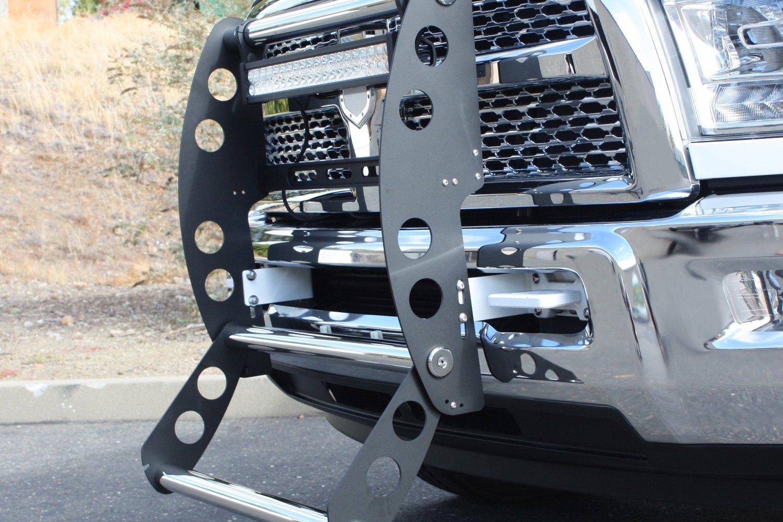 Truck Push Bar >> AMI® 19285KS - Swing Step Flat Black Push Bar with ...