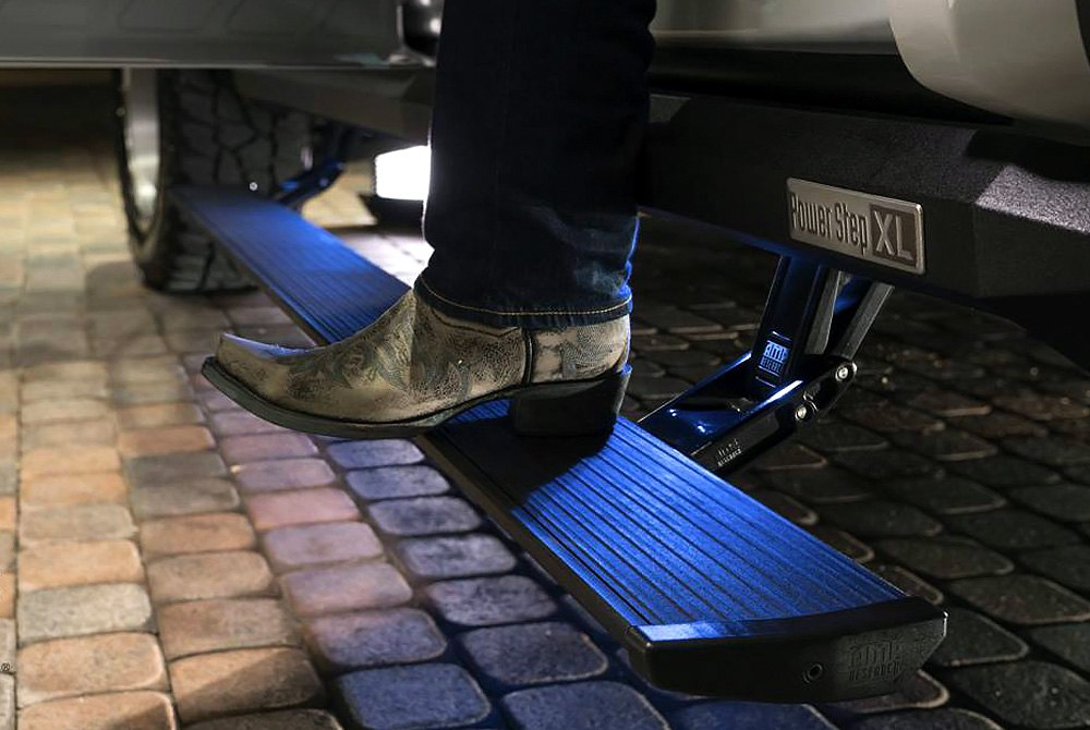 For Jeep Wrangler Amp Research Powerstep