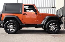 AMP® - Terrain Master M/T Tires on Jeep Wrangler - Side View