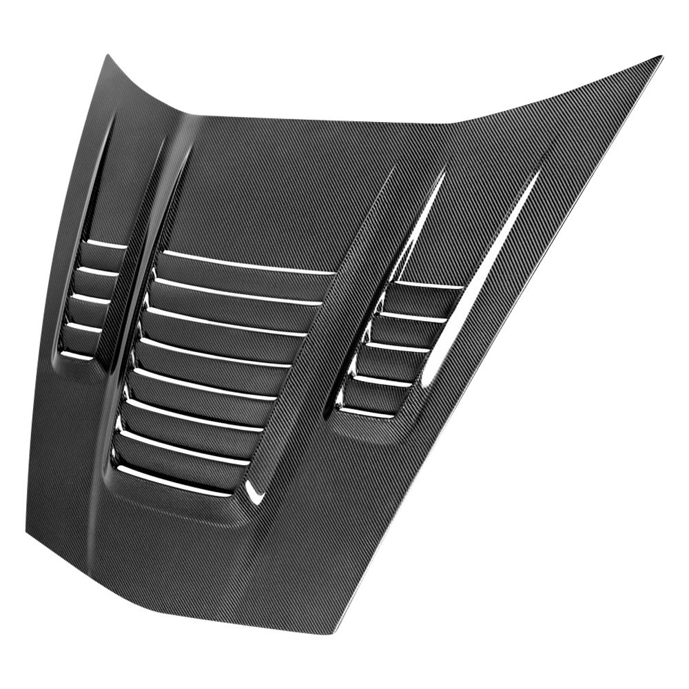 anderson composites ac hd05chc6 wh le mans style carbon fiber vented hood. Black Bedroom Furniture Sets. Home Design Ideas