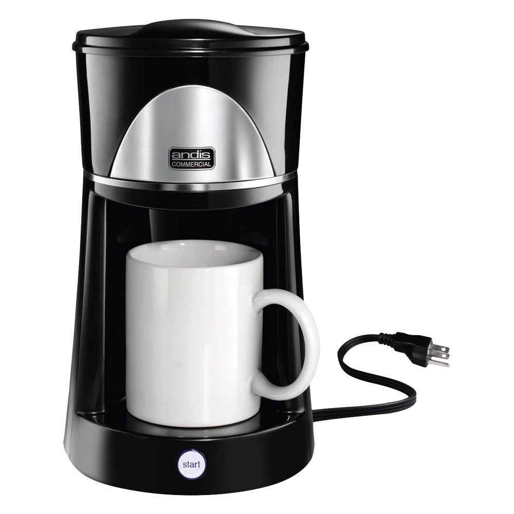 Easy One Cup Coffee Maker : Andis 60980 - One-Cup Coffee Maker