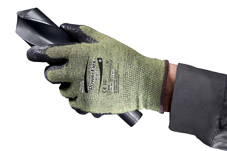 Ansell 103539 Powerflex Dupont Kevlar Gloves