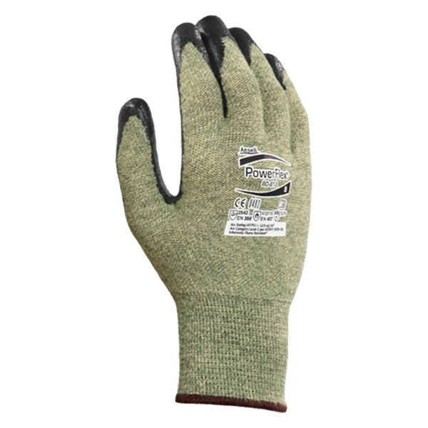 Ansell 103540 powerflex dupont kevlar gloves for Dupont exterior protection reviews