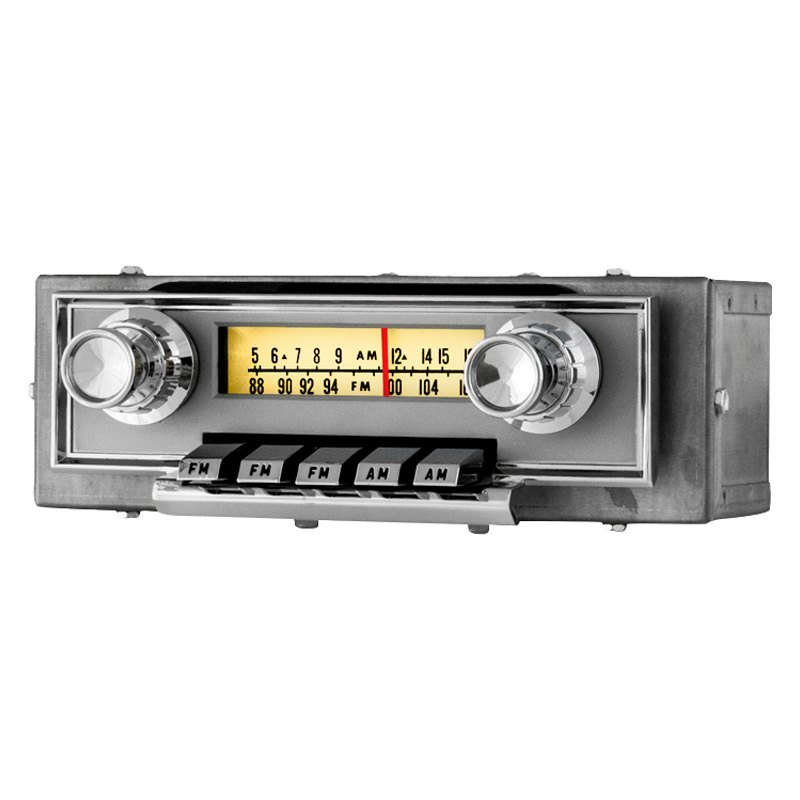antique automobile radio 481121bt am fm factory style radio with bluetooth. Black Bedroom Furniture Sets. Home Design Ideas