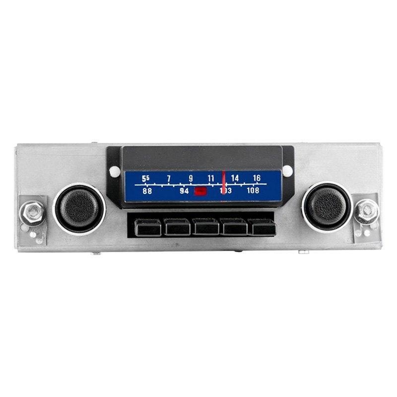 antique automobile radio am fm classic car radio with bluetooth. Black Bedroom Furniture Sets. Home Design Ideas