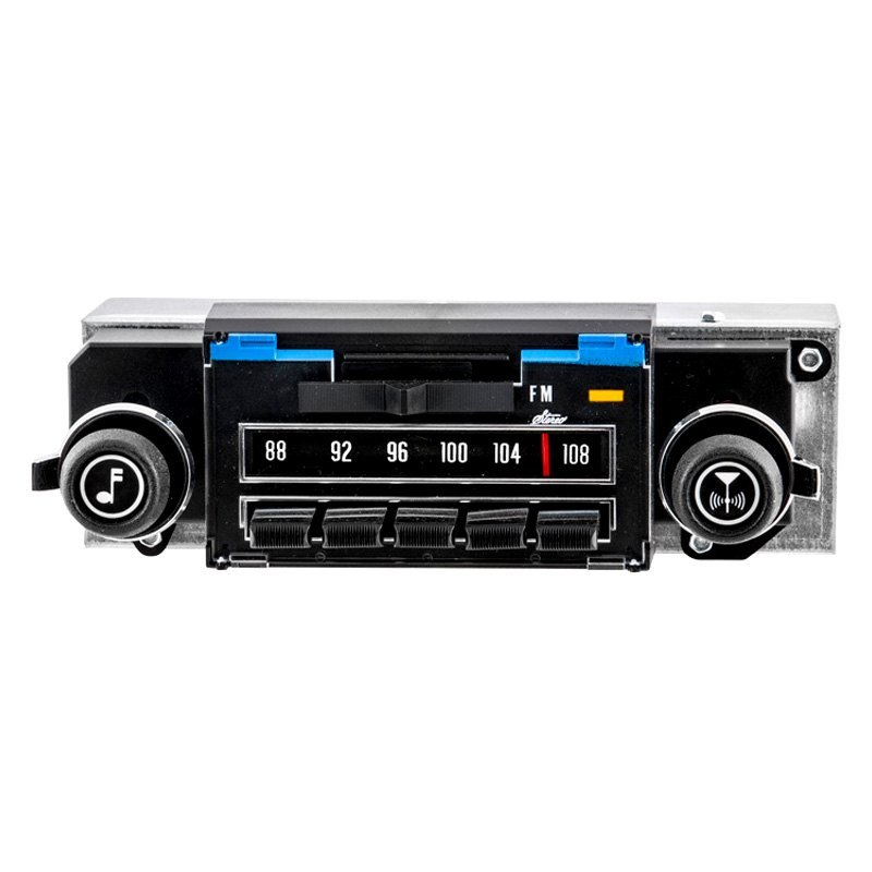 antique automobile radio am fm classic car radio with bluetooth. Black Bedroom Furniture Sets. Home Design Ideas
