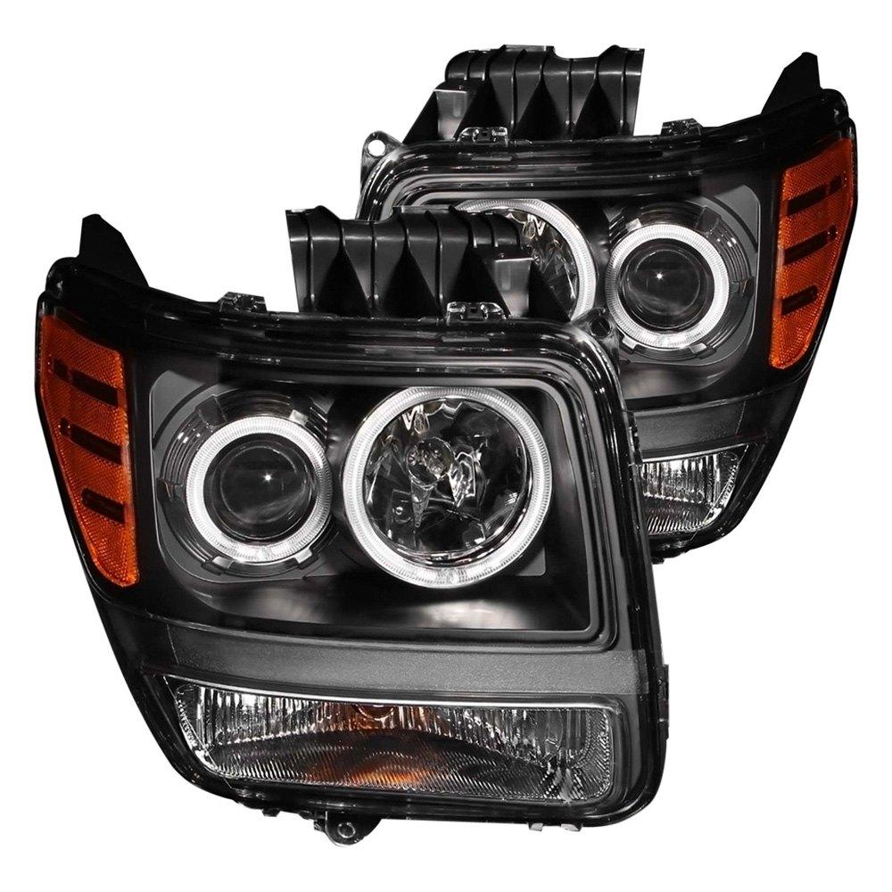 Dodge Nitro 2007-2012 Black CCFL Halo