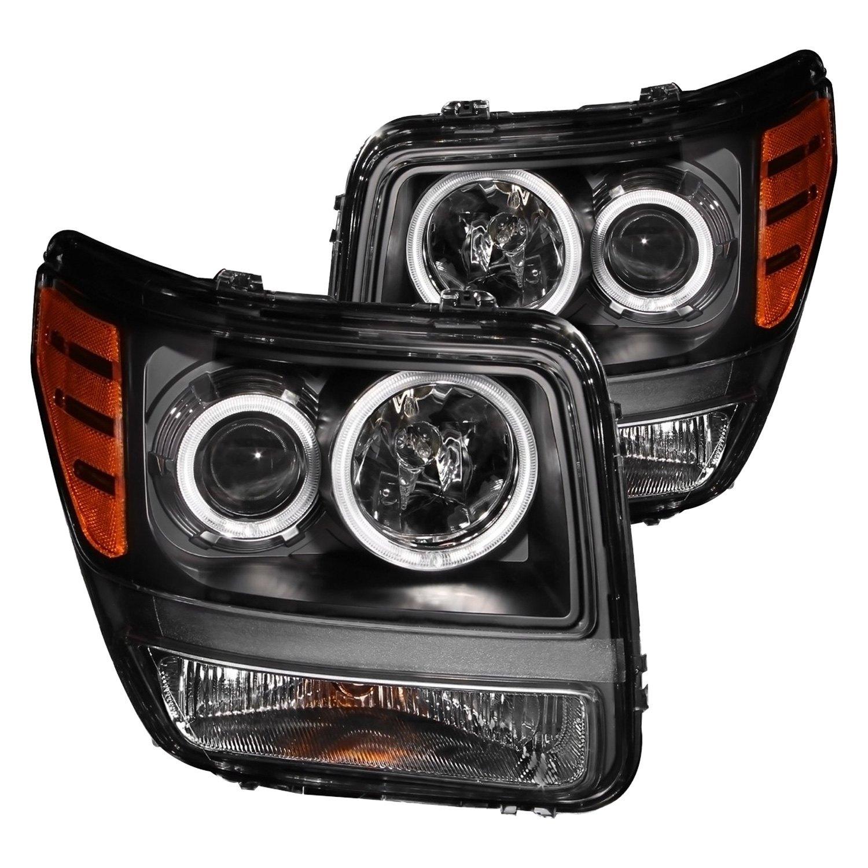 Dodge Nitro With Factory Halogen Headlights 2008