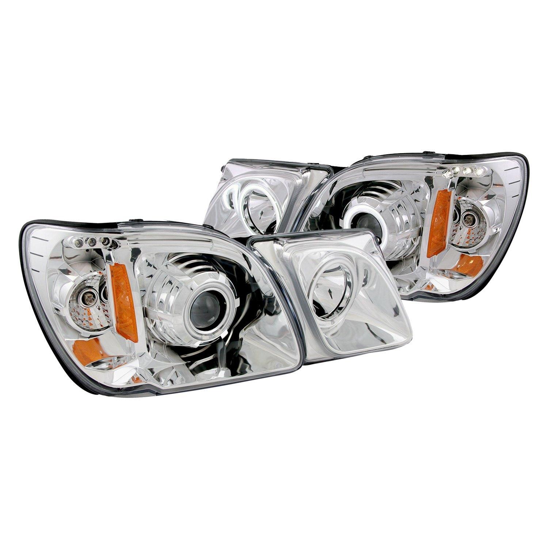 2006 Lexus Lx Interior: Lexus LX With Factory Halogen Headlights / Without