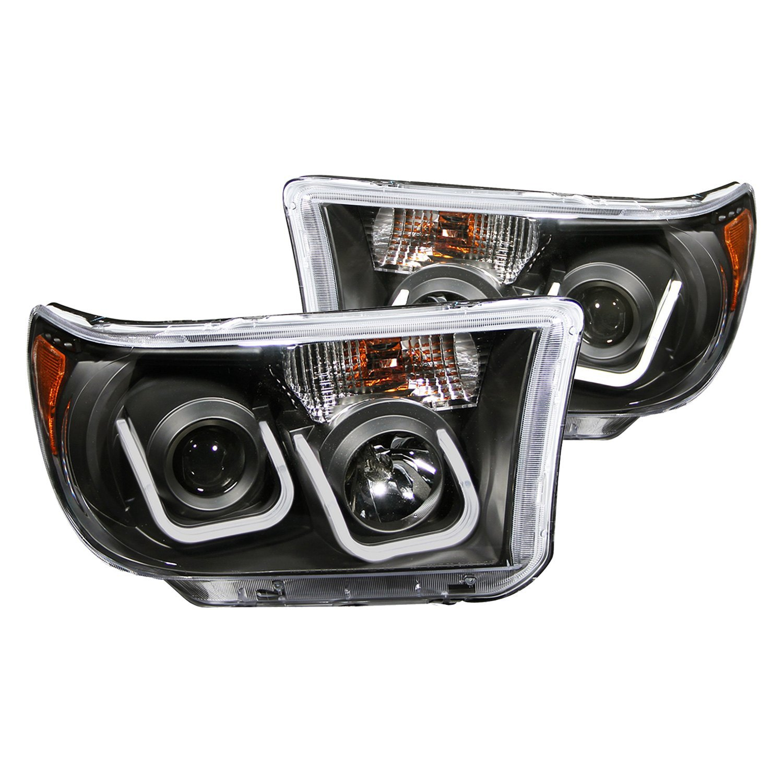 For Toyota Tundra 2007 2013 Anzo 111294 Black Led U Bar