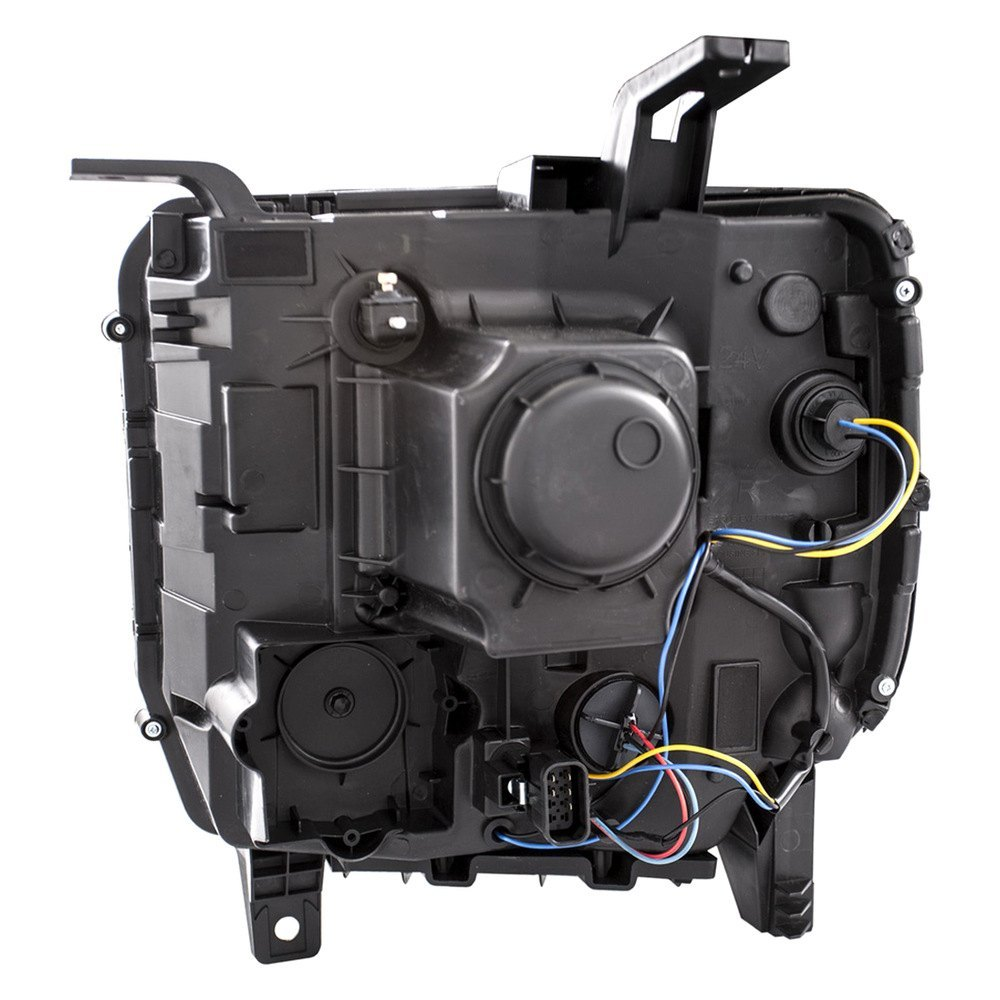 For Gmc Sierra 2500 Hd 15 18 Anzo Black U Bar Projector