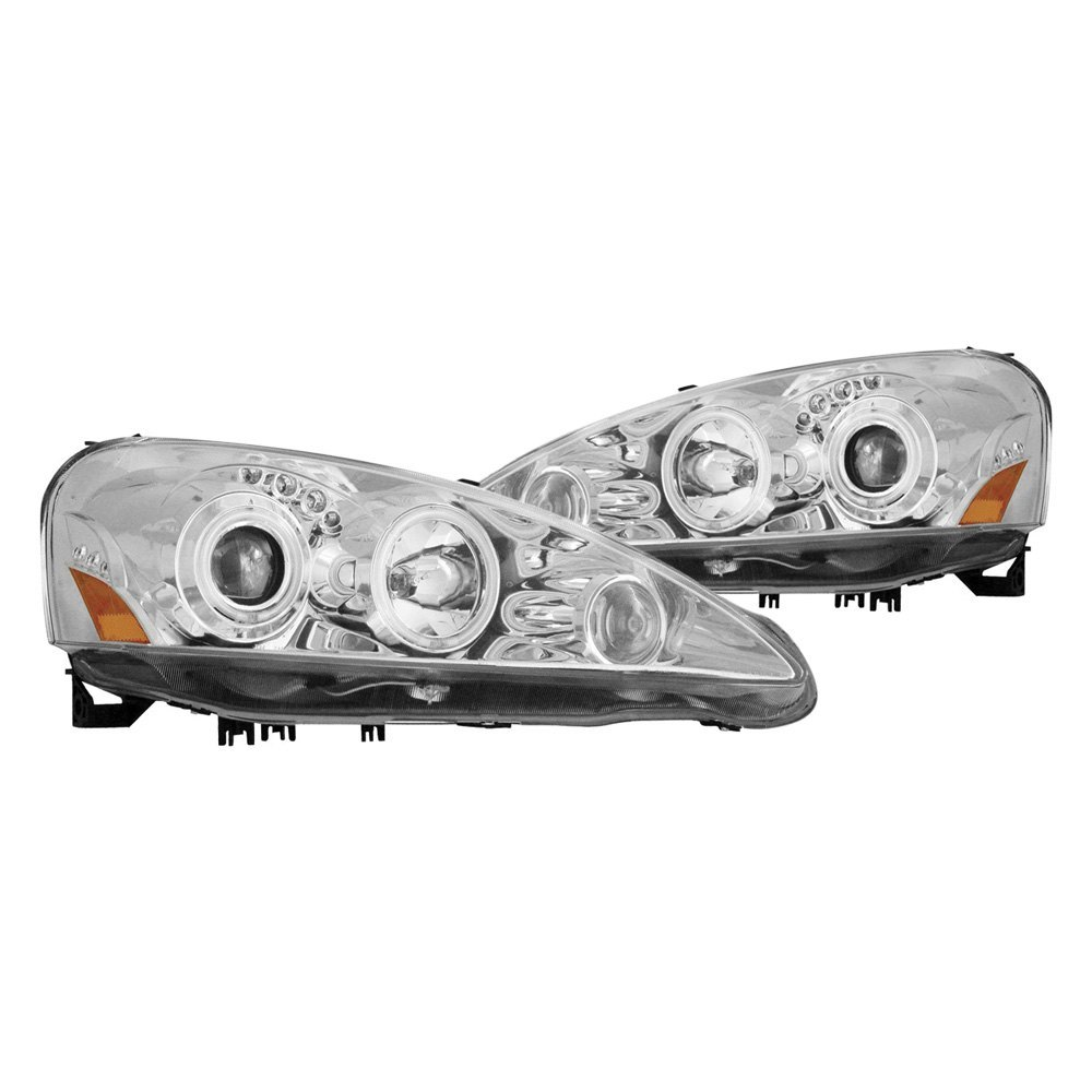 Acura RSX With Factory Halogen Headlights 2006