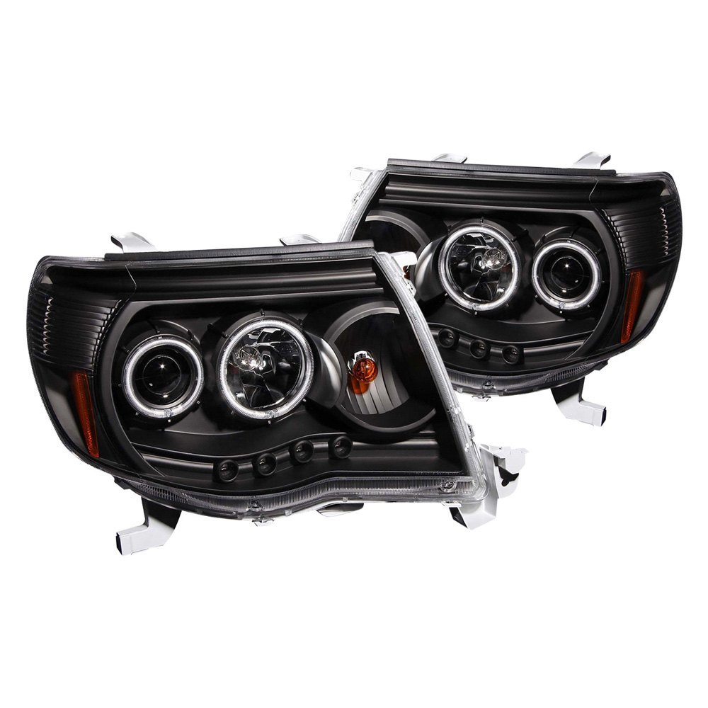 Anzo 121282 black ccfl halo projector led headlights anzo black ccfl halo projector led headlights swarovskicordoba Gallery