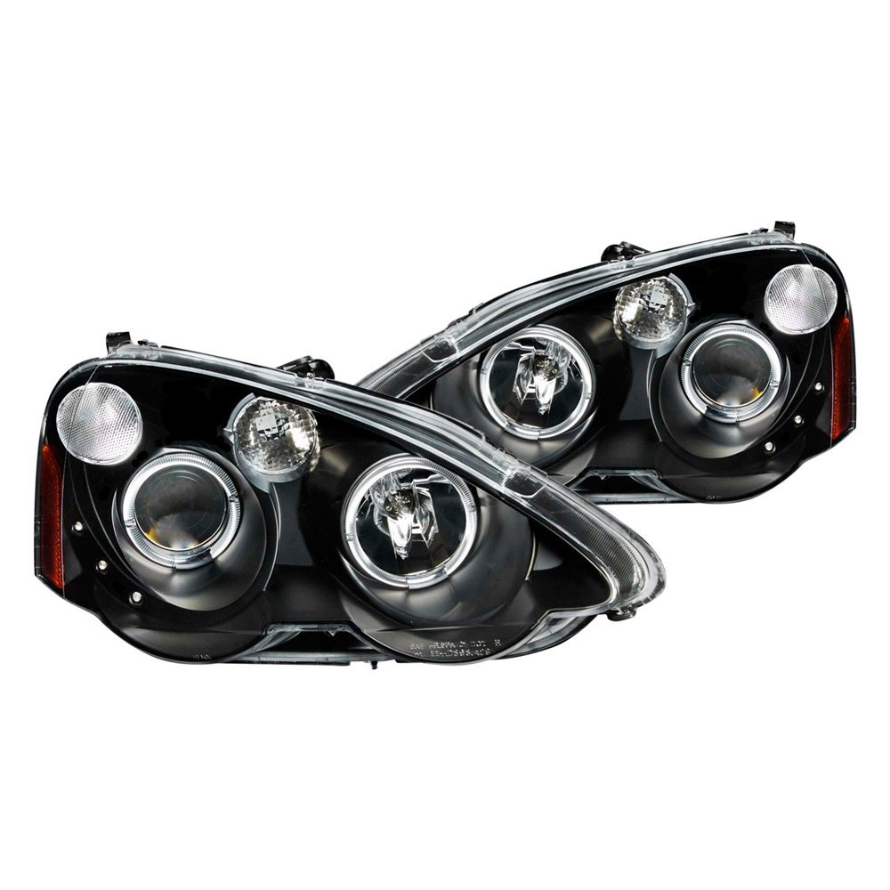 Acura RSX With Factory Halogen Headlights 2002