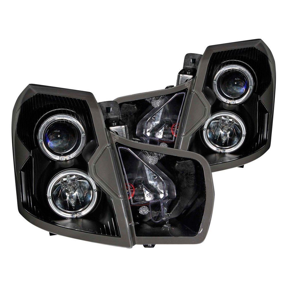 Cadillac CTS Sedan With Factory Halogen Headlights