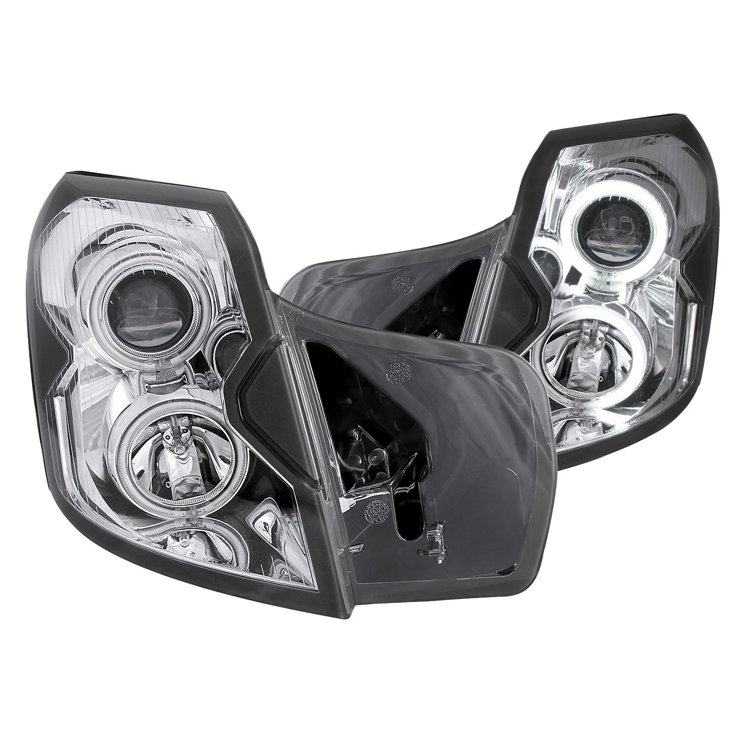Cadillac CTS With Factory Halogen Headlights 2003