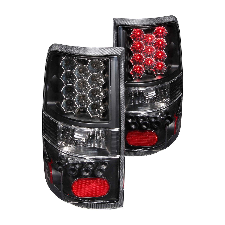 anzo 311024 ford f 150 2008 black led tail lights. Black Bedroom Furniture Sets. Home Design Ideas