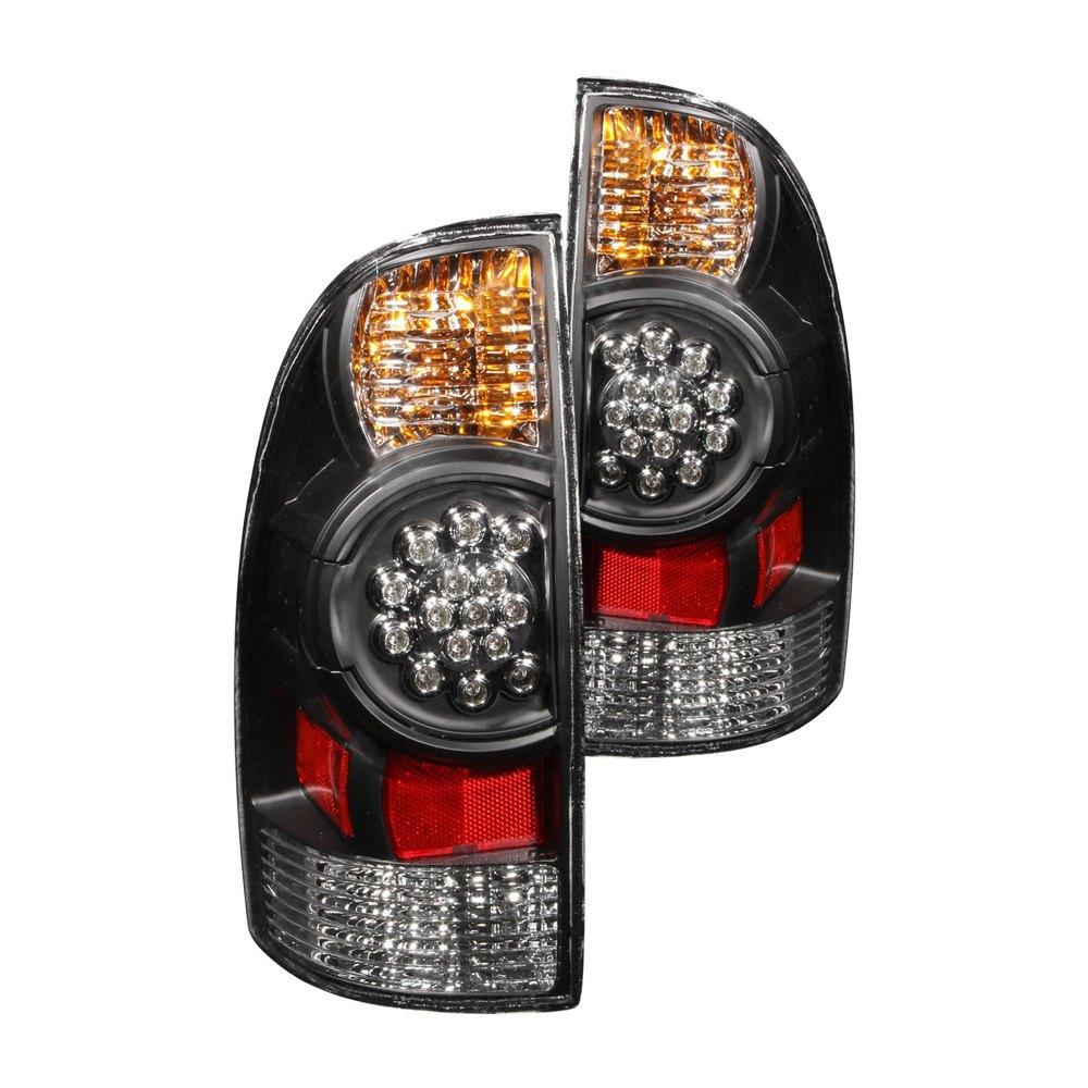 Anzo 174 311042 Black Led Tail Lights