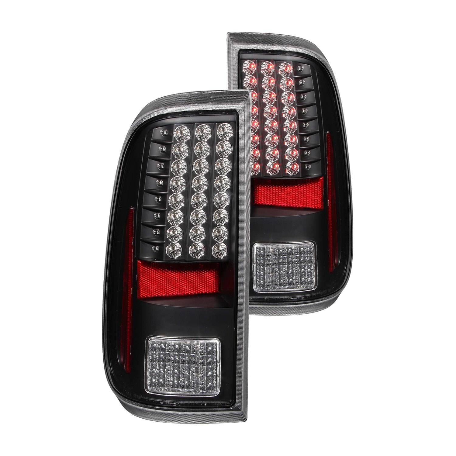 Anzo 311127 Black Led Tail Lights