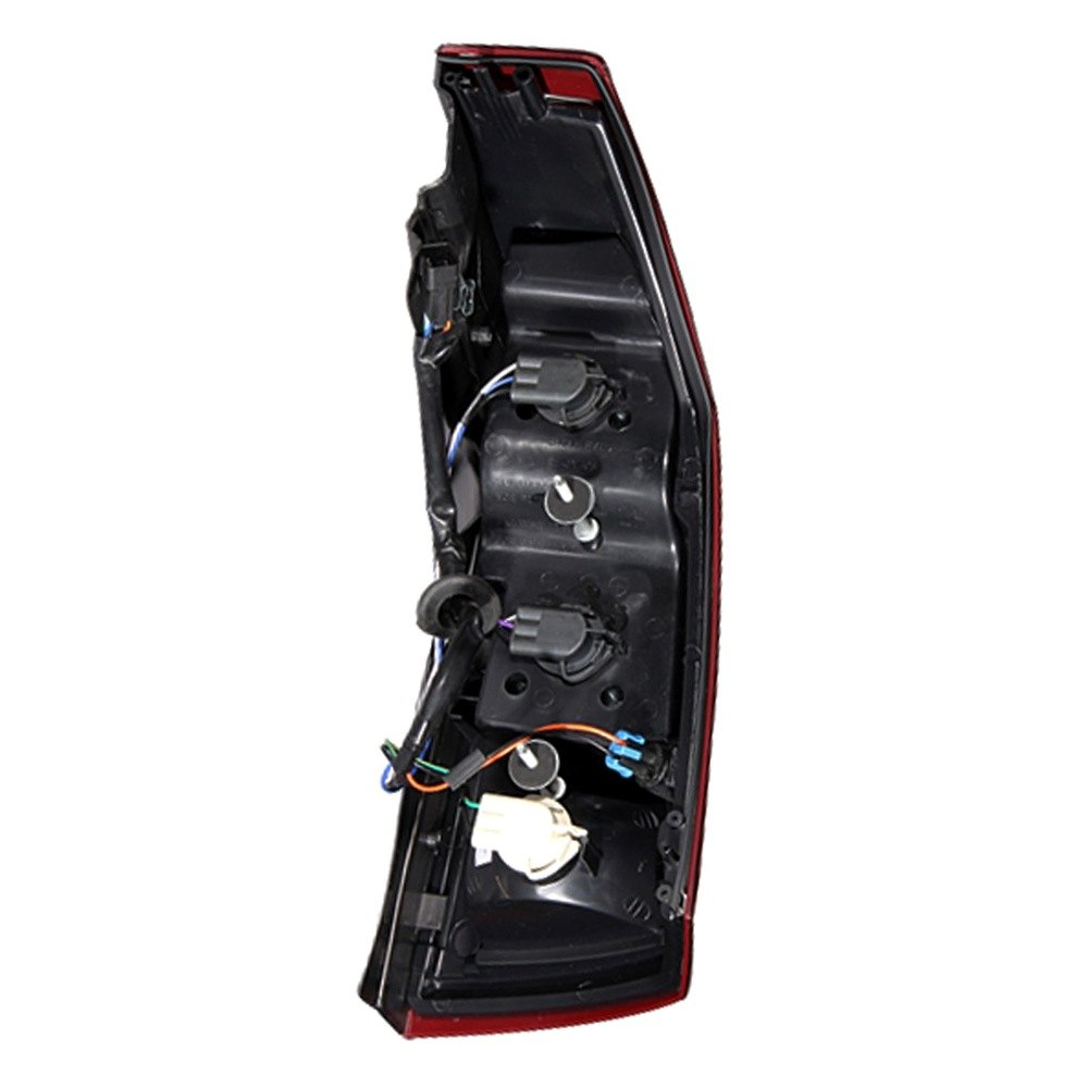 Anzo 321204 Cadillac CTS 2003 ChromeRed LED Tail Lights