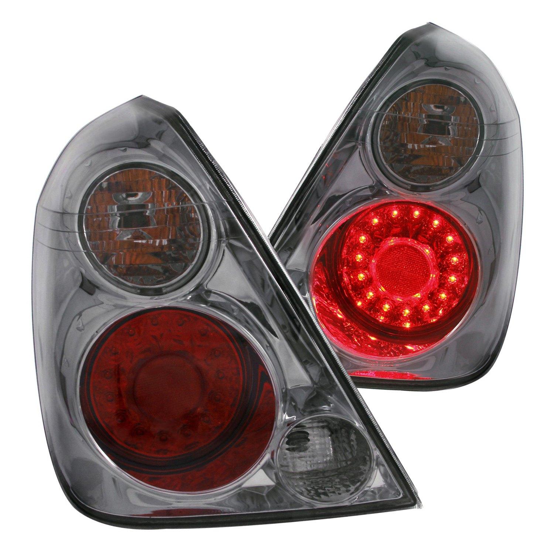 Anzo 321255 nissan altima 2002 chrome red smoke led - 2006 nissan altima interior led lights ...